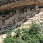Cliff Palace. Image Source: Cliff Palace at Mesa Verde National Park.