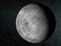 An artist's concept of the new-found planet Kepler-37b.
