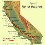 Figure 2. The San Andreas Fault slices across most of California. Copyright © 2006 David K. Lynch.