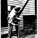 One of the telescopes featured in Ingall's inaugural column,made by E. L. Worbois, 127 Adam Street, Tonawanda, New York.