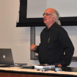 Addressing the Peninsula Astronomical Society at Foothill College, Los Altos Hills, CA.